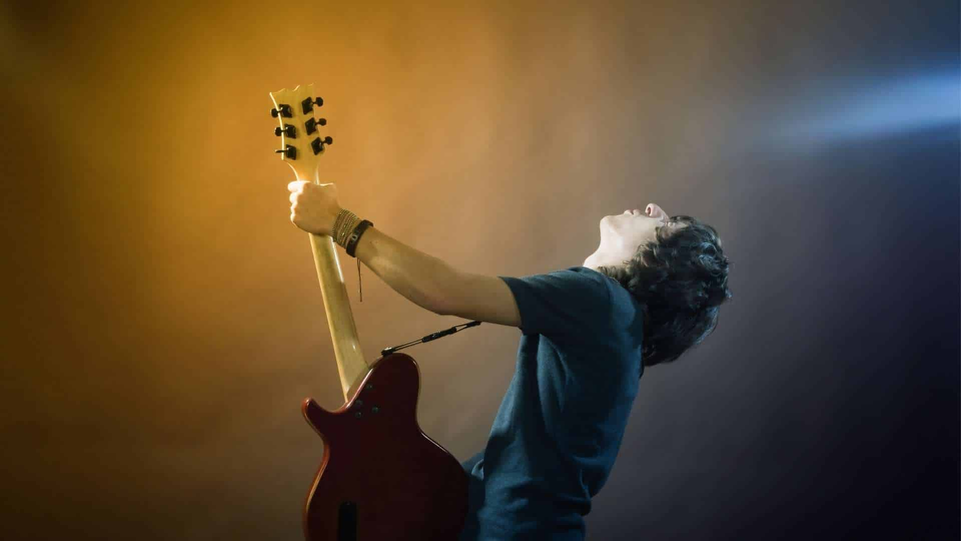 How to Combat your Performance Nerves - Performing guitar