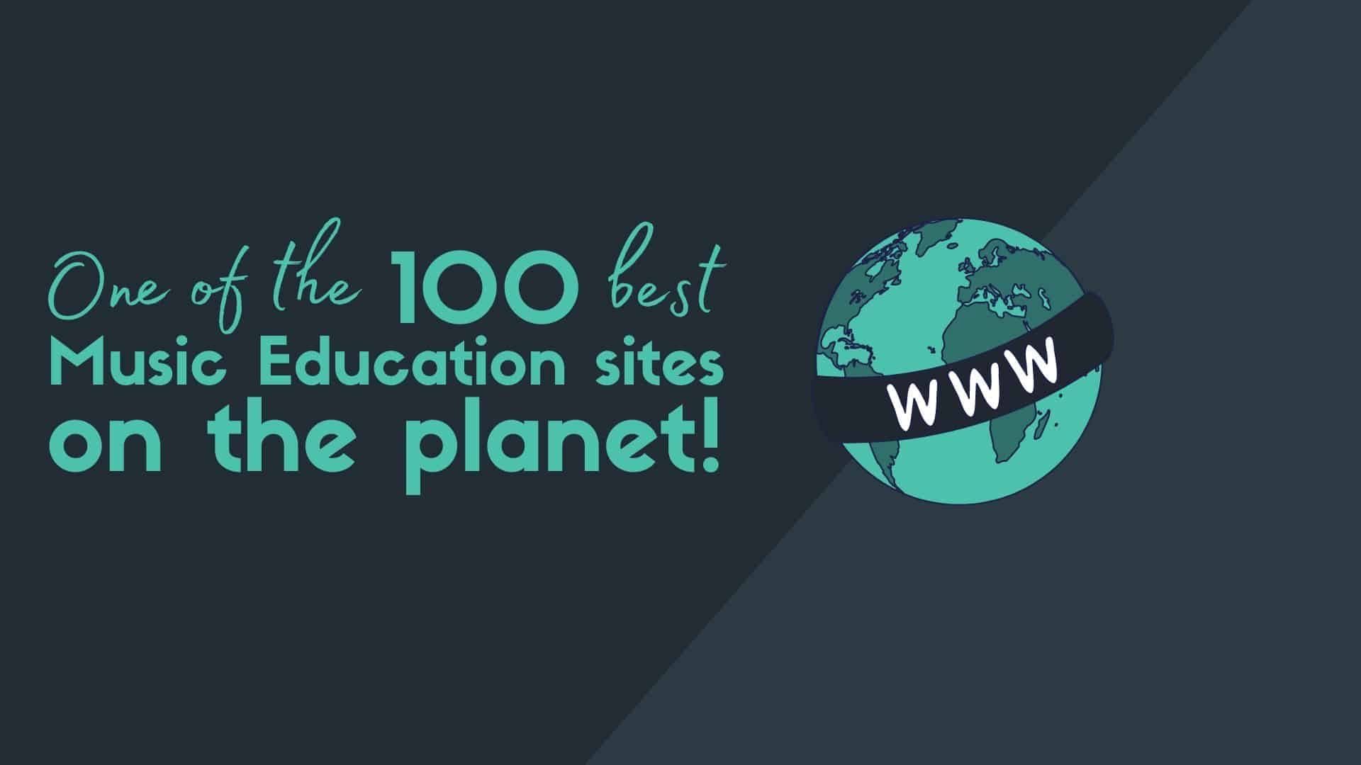 Duett is One of the 100 Best Music Education Sites on the Planet! - Beyond Music blog post headers