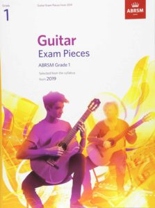 Guitar Exam Pieces from the syllabus starting 2019 ABRSM Grade 1