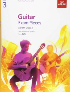Guitar Exam Pieces from the syllabus starting 2019 ABRSM Grade 3