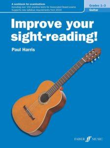Improve your sight-reading Guitar Grades 1-3