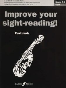 Improve your sight-reading Violin Grade 7-8