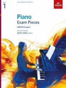 Piano Exam Pieces 2021 & 2022, ABRSM Grade 1