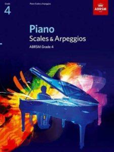 Piano Scales & Arpeggios, ABRSM Grade 4 (from 2021)