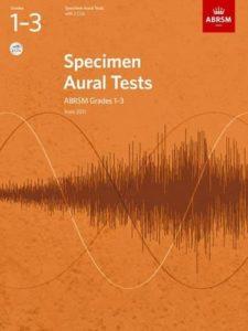Specimen Aural Tests, ABRSM Grades 1-3 with 2 CDs