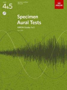 Specimen Aural Tests, ABRSM Grades 4 & 5 with 2 CDs