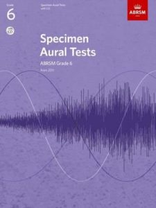Specimen Aural Tests, ABRSM Grade 6 with CD