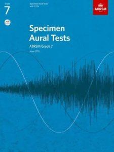 Specimen Aural Tests, ABRSM Grade 7 with two CDs