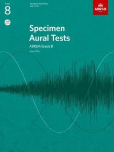 Specimen Aural Tests, ABRSM Grade 8 with two CDs