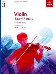 Violin Exam Pieces 2020-2023 ABRSM Grade 3 Score & Part