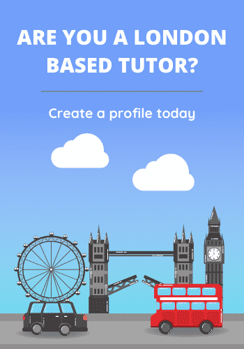 About us - are you a london based tutor