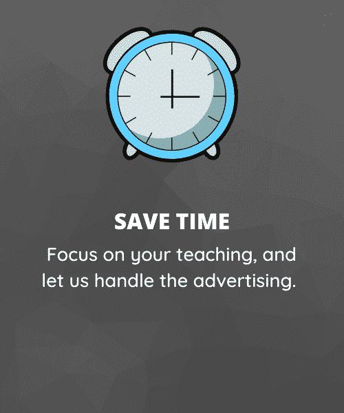 Become a Tutor - save time