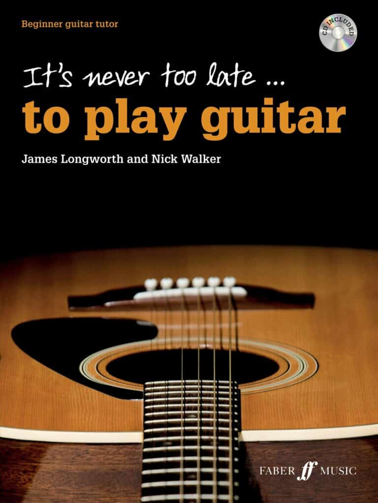 It's never too late to play guitar cover