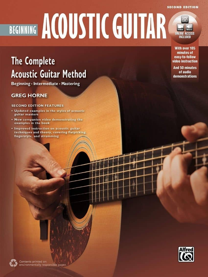 The Complete Acoustic guitar Method cover