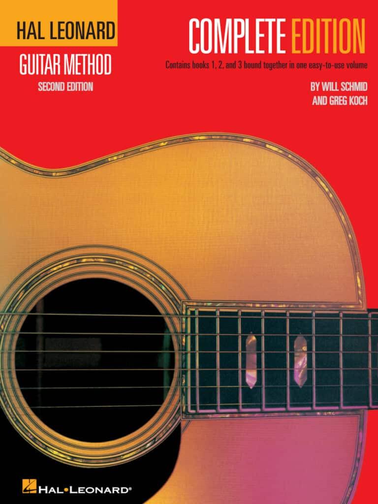 The 3 best guitar books for beginners - The Hal Leonard Guitar Method